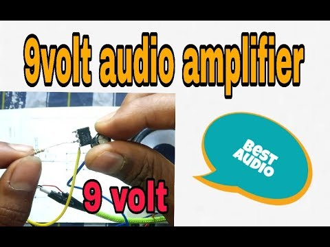 How to make a simple audio amplifier? using LM386 Amplifier||(100% working  'korba')
