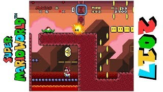 Lava Floaters • Hack of Super Mario World