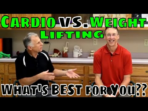 Cardio vs. Weight Lifting! What's Best for You??