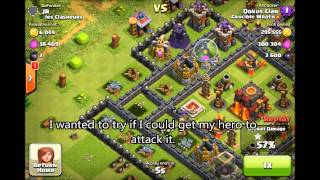 Clash of Clans - top players Farming with balloons and minions