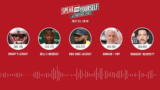 SPEAK FOR YOURSELF Audio Podcast (7.23.19) with Marcellus Wiley, Jason Whitlock | SPEAK FOR YOURSELF