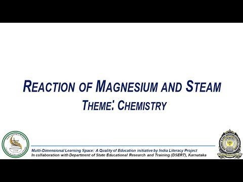 Reaction Of  Magnesium With Steam