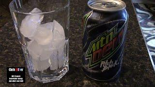 "First taste/reaction: Mountain Dew ""Pitch Black"""