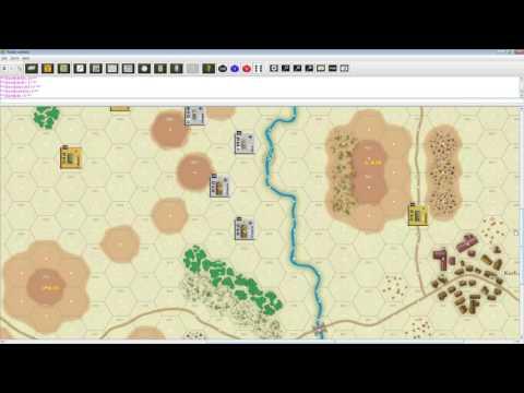 GMT Games Panzer. Tutorial Фернандо Сола, ч. 1, Spotting, Command, Initiative