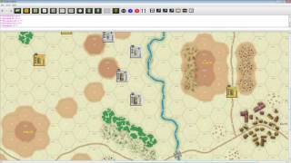 GMT Games Panzer. Tutorial Фернандо Сола, ч. 1, Spotting, Command, Initiative