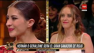 Rojo el color del talento Hernan Arcil 1er lugar en Bailarínes Hd