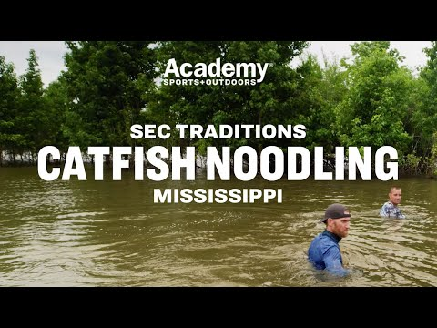 SEC Traditions: Catfish Noodling In Mississippi With Marty Smith
