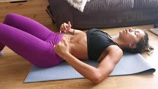 Tighten your Abs || Heal your diastisis recti || pelvic floor & TVA muscle work || IT WORKS!!