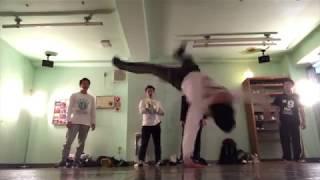 BBOY Kj practice