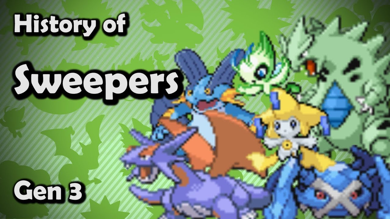 History Of Sweepers In Competitive Pokemon Part 1 Ft Njnp Youtube