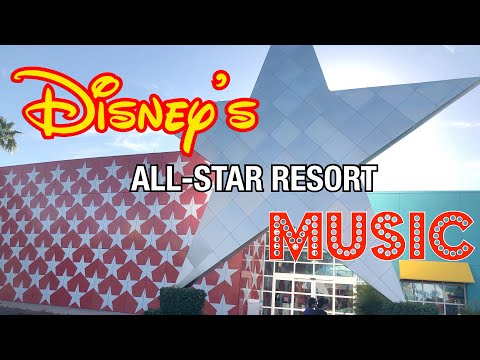 Disney's All Star Music Resort  Disney World 2018