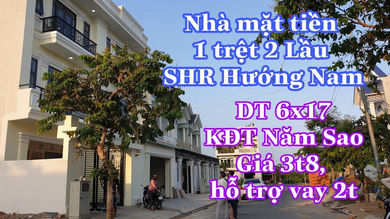 Bán nhà Bình Chánh 6x17m 2 lầu mặt tiền Đinh Đức Thiện   LH 0906485209 zalo/viber Mr Huy