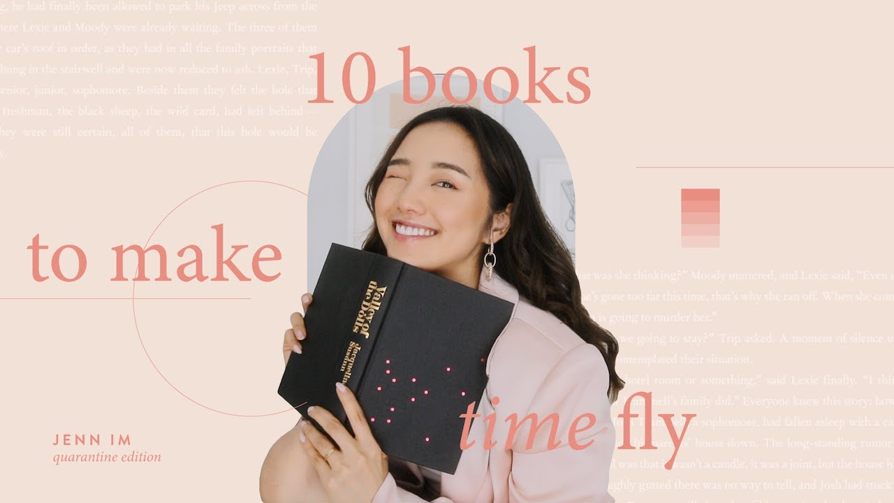 10 Books To Make Time Fly