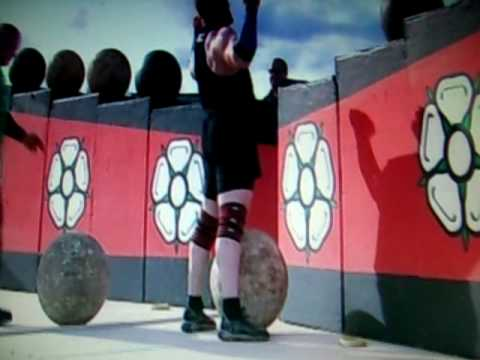 Tim Thacker, Britains Strongest Man, Atlas Stones