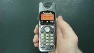 Qanday Panasonic DECT (subtitr)bo'yicha pincode qayta o'rnatish uchun