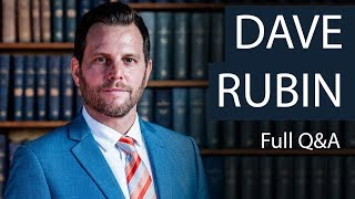 Dave Rubin | Full Q&A | Oxford Union