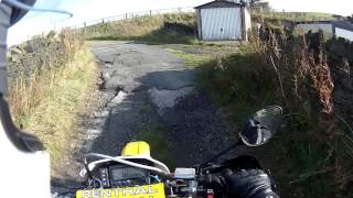 Two Greenlanes / Byways in West Yorkshire - DRZ400