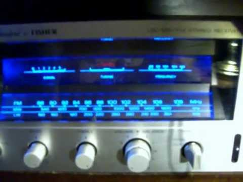 FISHER CA 3030 STEREO AM FM Receiver Studio Standard 70's - YouTube