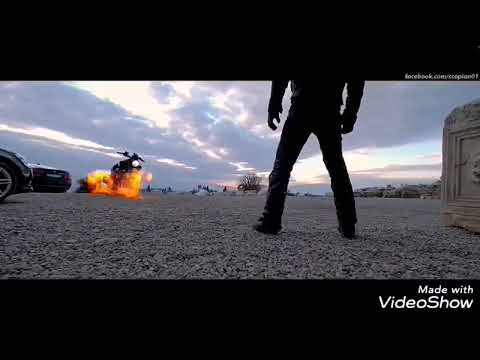 Ghost rider in mankatha theme music WhatsApp video
