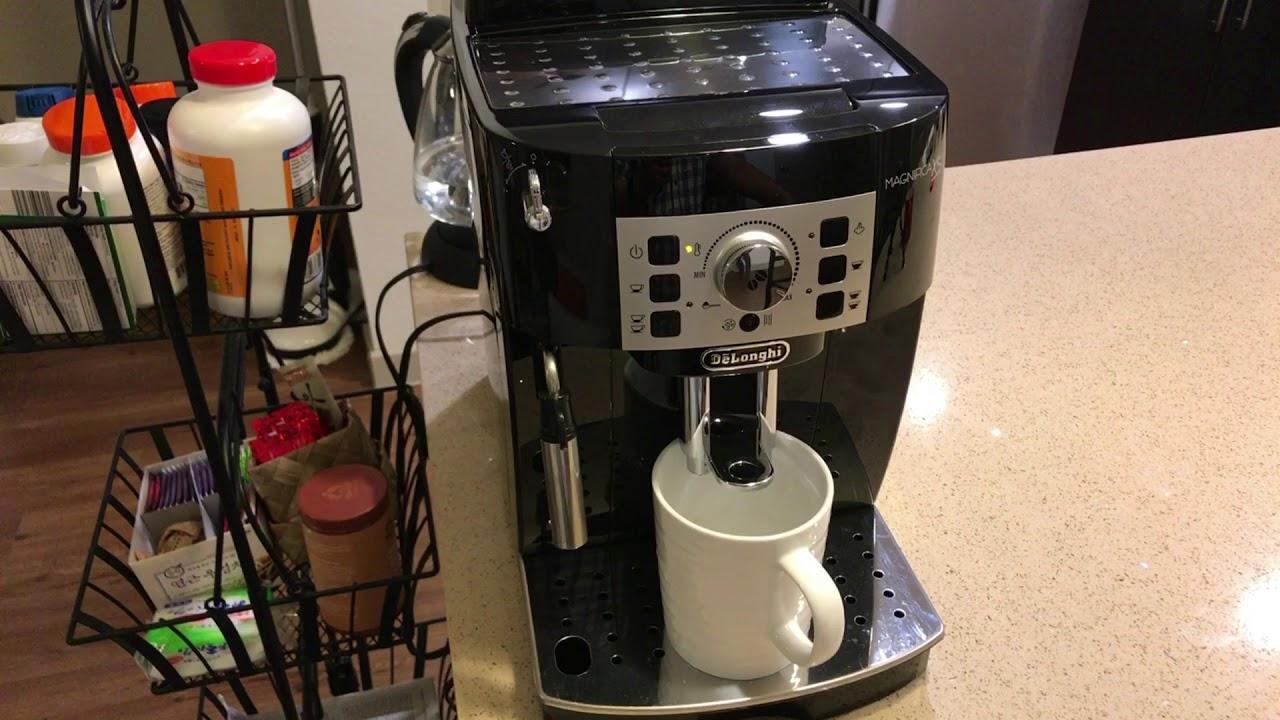 Delonghi Magnifica XS Automatic Espresso Machine Review ...