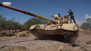 Эксклюзив! Кадры жестокого боя между ИГИЛ и Силами Тигра  Сирия последние новости сегодня