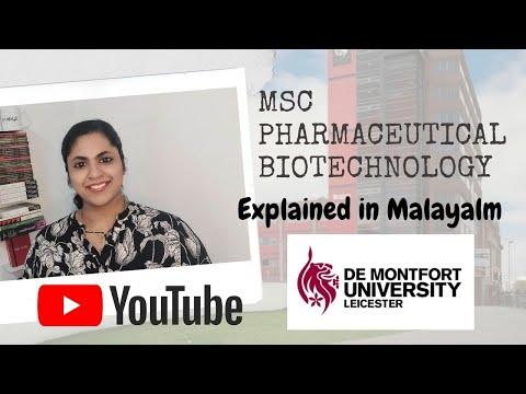 MSc Pharmaceutical Bio technology in UK explained in Malayalam