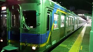 南海高野線 北野田駅 6000系(6005+6913+6909編成) 急行橋本行 発車