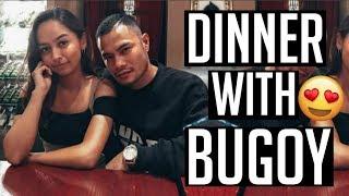 Dinner with BUGOY DRILON!! (Vlog 2)