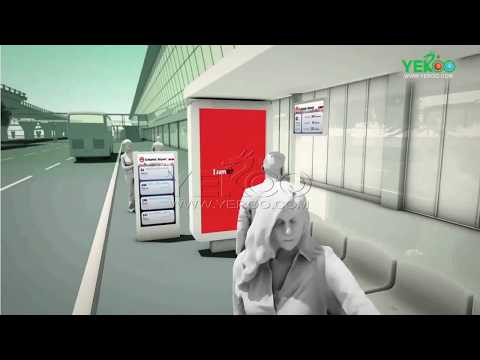 YEROO offers a revolutionary concept for the outdoor advertising street furniture industry