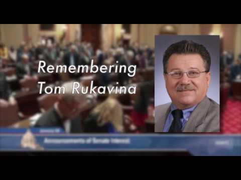 Moment of Silence for Tom Rukavina