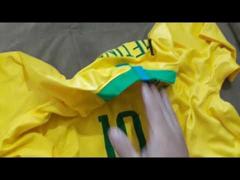 Camisa Brasil 2018 original personalizada (Edição limitada)