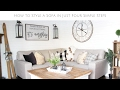 4 Simple Steps to Create a Cozy Sofa with Farmhouse Style
