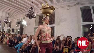 Hernán  Zajar  Palenqueras de Cartagena Ixel Moda 2017