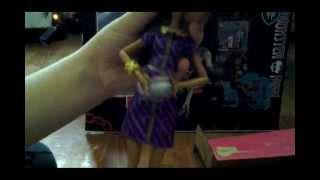 Распаковка куклы  monster high COFFIN BEAN.