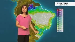 Previsão de chuva para o BR nos próximos dias
