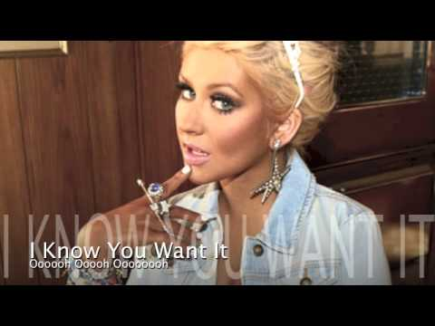 Your Body - Christina Aguilera Official Karaoke With Backing