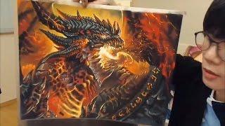파괴자 데스윙 Deathwing (World Of Warcraft - Cataclysm)