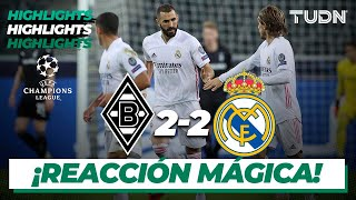 Highlights | Monchengladbach 2-2 Real Madrid | Champions League 2020/21 - J2 | TUDN