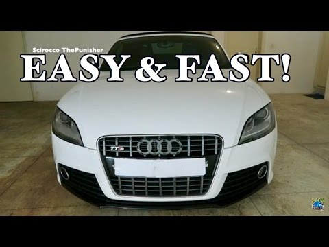 How to Remove Audi Front Emblem 2018