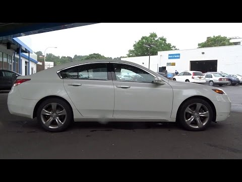 2012 Acura TL White Plains New Rochelle Westchester Scarsdale