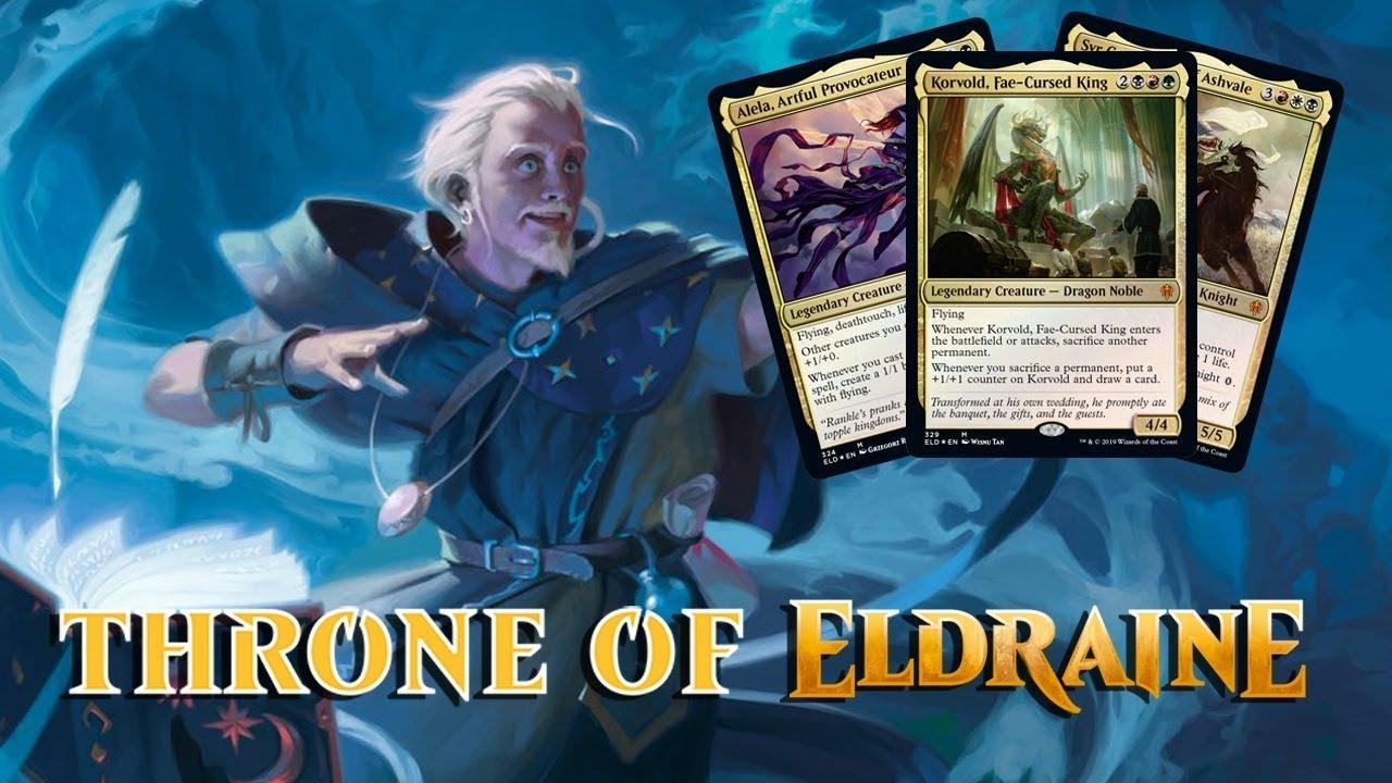 Daily Throne of Eldraine Spoilers — September 5, 2019 | Brawl Decks and New  Commanders!