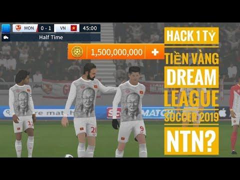 cách hack tiền game dream league soccer - HACK 1 TỶ TIỀN VÀNG TRONG DREAM LEAGUE SOCCER 2019 NTN?