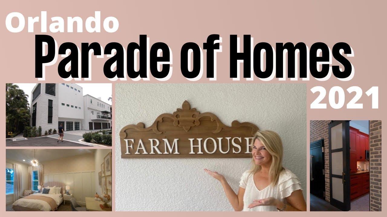 Our Tour of the 2021 Orlando Parade of Homes