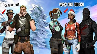I play as NO SKIN and then show my RECON EXPERT he RASTET OFF!.. Fortnite