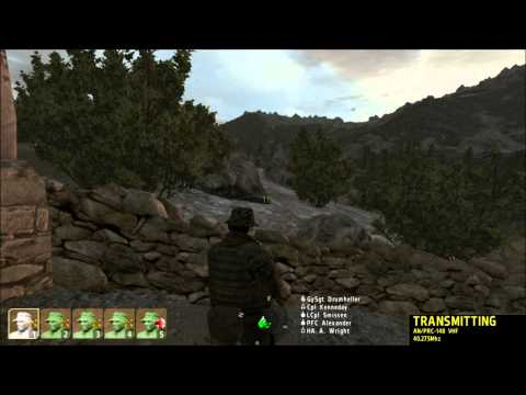 USMC MARSOC Hostage Rescue and Firefight - ArmA 2 Gameplay