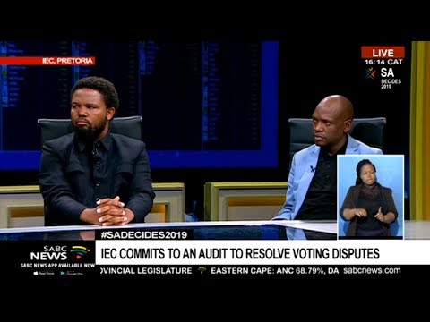BLFs Mngxitama and ACMs Motsoeneng reflect on election results