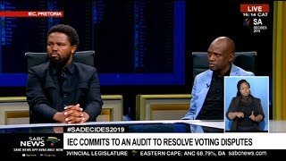 BLF's Mngxitama and ACM's Motsoeneng reflect on election results