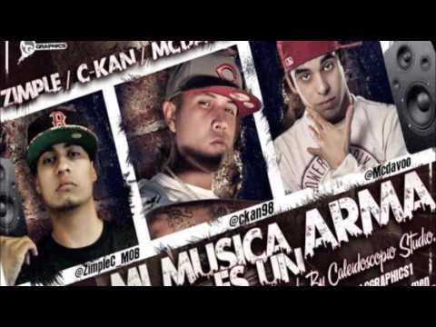 C-kan mi musica es un arma ft zimple, MC davo (epicenter)