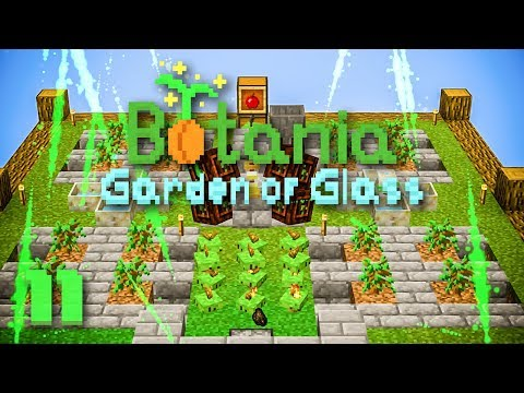 how to make a tree farm minecraft botania