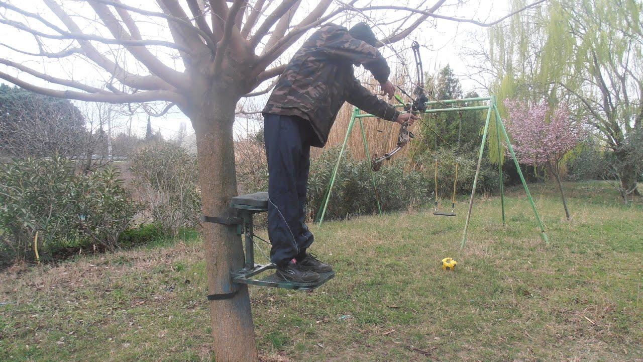 plan et cotes pour fabriquer un tree stand  YouTube